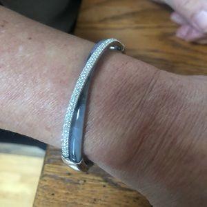 Michael Kors Silver Crystal Bracelet